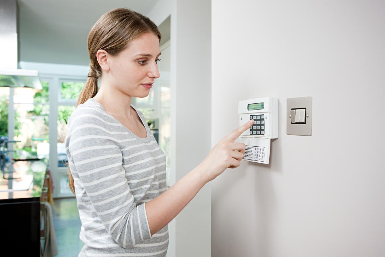 security installation. burglar alarm installation in wirral security